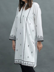Slub Cotton Long Kurti