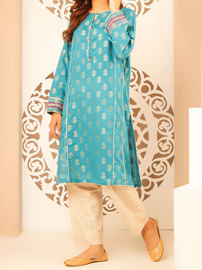 Semi Formal Embroidery Kurti