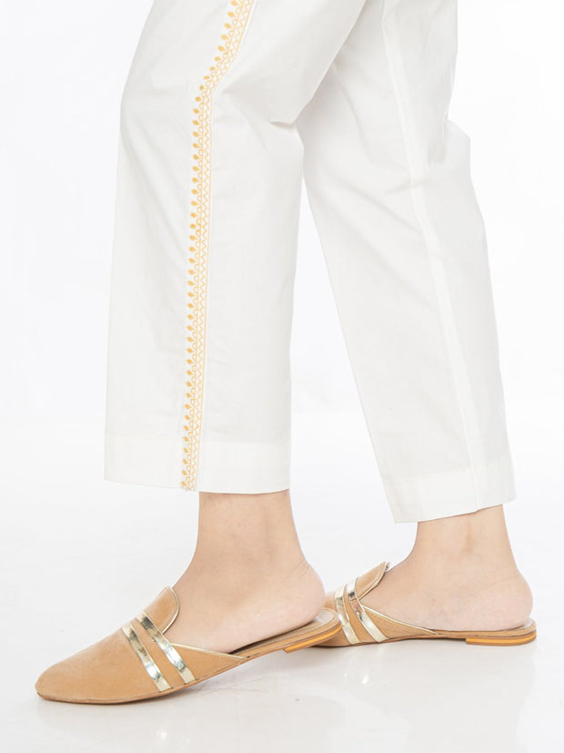 Straight Pant - Off White