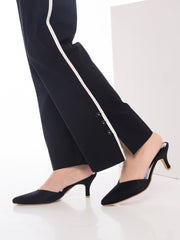 Cotton Lycra Straight Pant