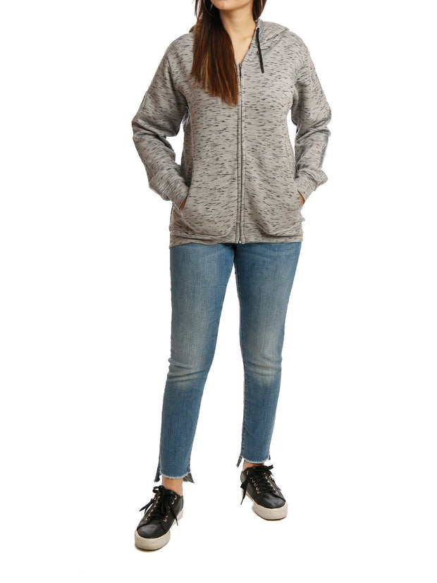 Hooded Full Zipper Jacket Fleece