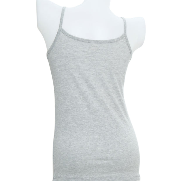 Spaghetti Strap Tank Top - Grey