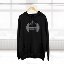 Load image into Gallery viewer, Unisex TrainingBeta Pullover Hoodie in Black