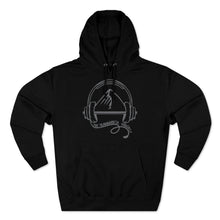 Load image into Gallery viewer, TrainingBeta Podcast Pullover Hoodie in Black