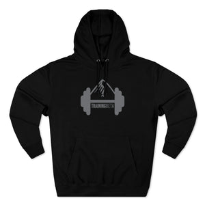 Unisex TrainingBeta Pullover Hoodie in Black