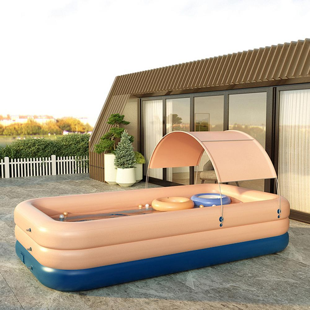 Mafulus PVC Wireless Automatic Inflatable Swimming Pool