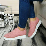 Mafulus Womens Perforated Lace up Platform Sneakers Loafers