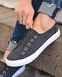 Mafulus Womens Casual Slip On Sneakers No Lace Comfy Walking Shoes