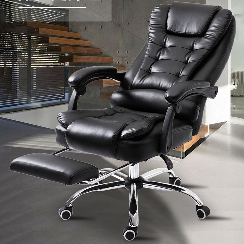 Mafulus Home Modern Minimalist Lifting Reclining Computer Chair