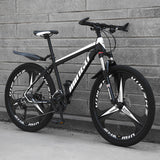 Mafulus 26 Inch Adult Mountain Bikes, Unisex Bike Non-Slip Bicycles - Fast-Speed Comfortable Outroad Racing Cycling - 21/24/27/30 Speed Gears Dual Disc Brakes Mountain Bicycle