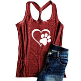 Mafulus Womens Graphic Summer Tank Tops