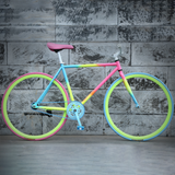 Mafulus Adult Road Bike, 26 inch Wheel, Single Speed, Multi-coloured