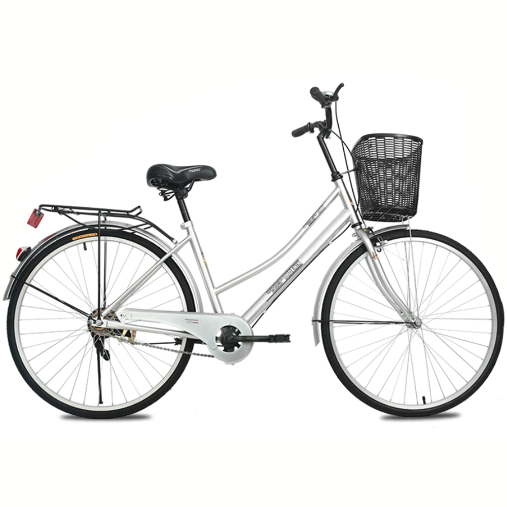 Mafulus Adult 26 inch Commuter Bike, Single Speed, Lightweight Aluminum, Cruiser Bicycle