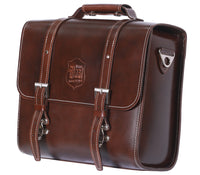 Michael Blast Pannier Case Smooth Leather - Brown