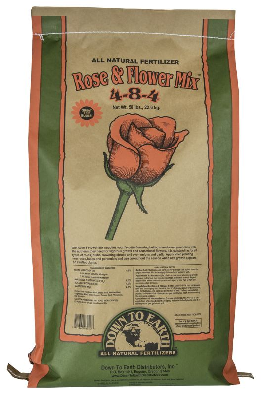 Down To Earth Rose & Flower Mix
