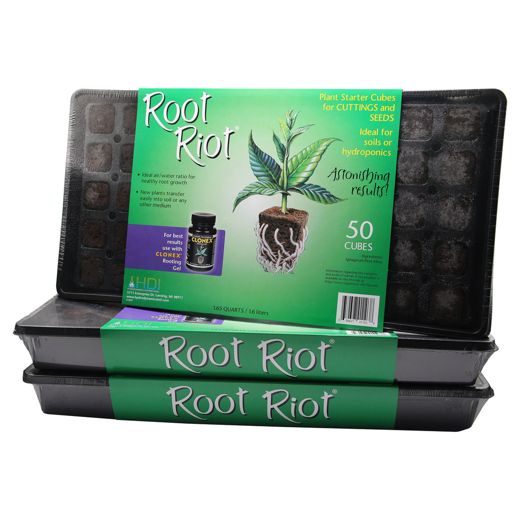 Root Riot 50 Cube Tray