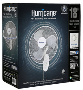 Hurricane Supreme Wall Fan