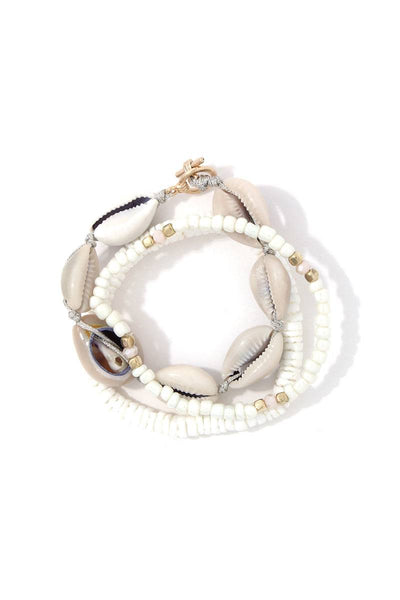Beaded Stretch Bracelet Set-SamiraBoutique