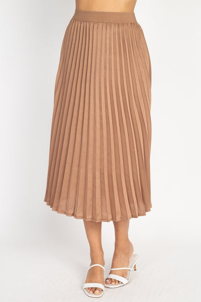 Pleated Maxi Skirt-SamiraBoutique