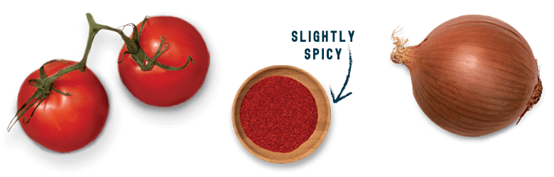 Barbecue Flavors - Tomato, Paprika, and Onion