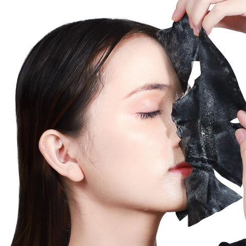 Deep Pore Cleaning Charcoal Face Sheet Mask - MonaBeautyUSA