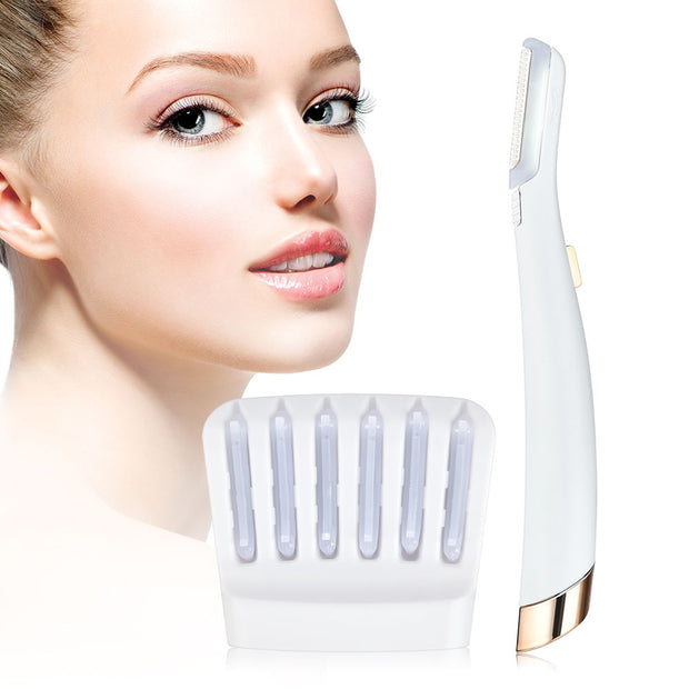LED Dermaplaner Skin Care Tool - Mona Beauty USA