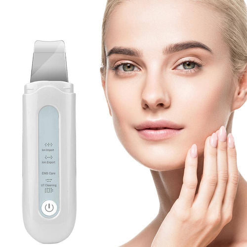 Skinly - Rechargeable Ultrasonic Facial Skin Scrubber-Skin Care-Mona Beauty USA