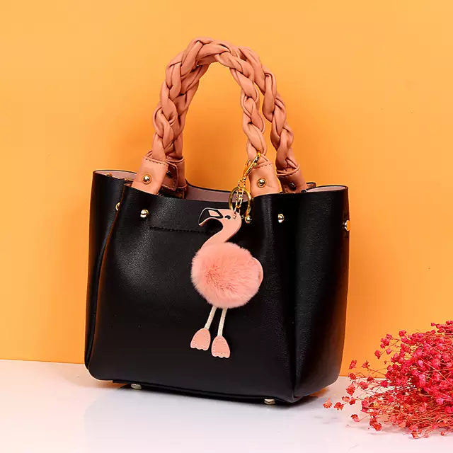 LUXZ-FLAMINGO TOTE BAG