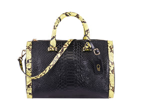 LUXZ - O'29 crocodile Leather Bag