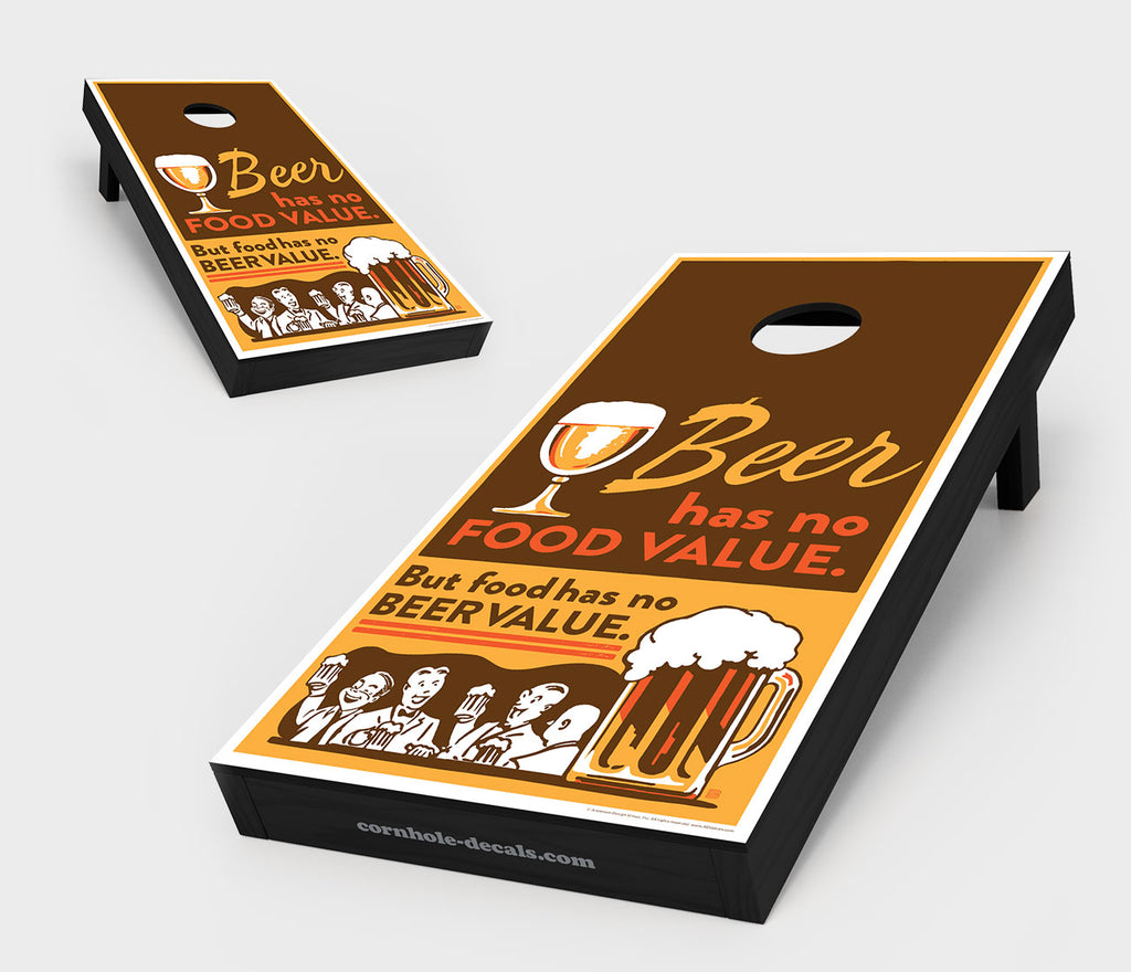 Chuggles Cornhole - Anderson Design Group - Beer Cornhole Board Set