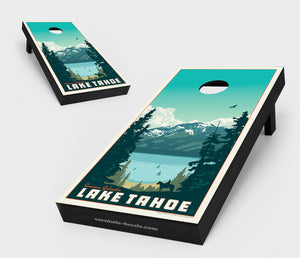 Lake Tahoe – Summer Splendor Cornhole Board Set