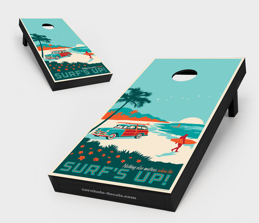 Surf's Up! Cornhole Set