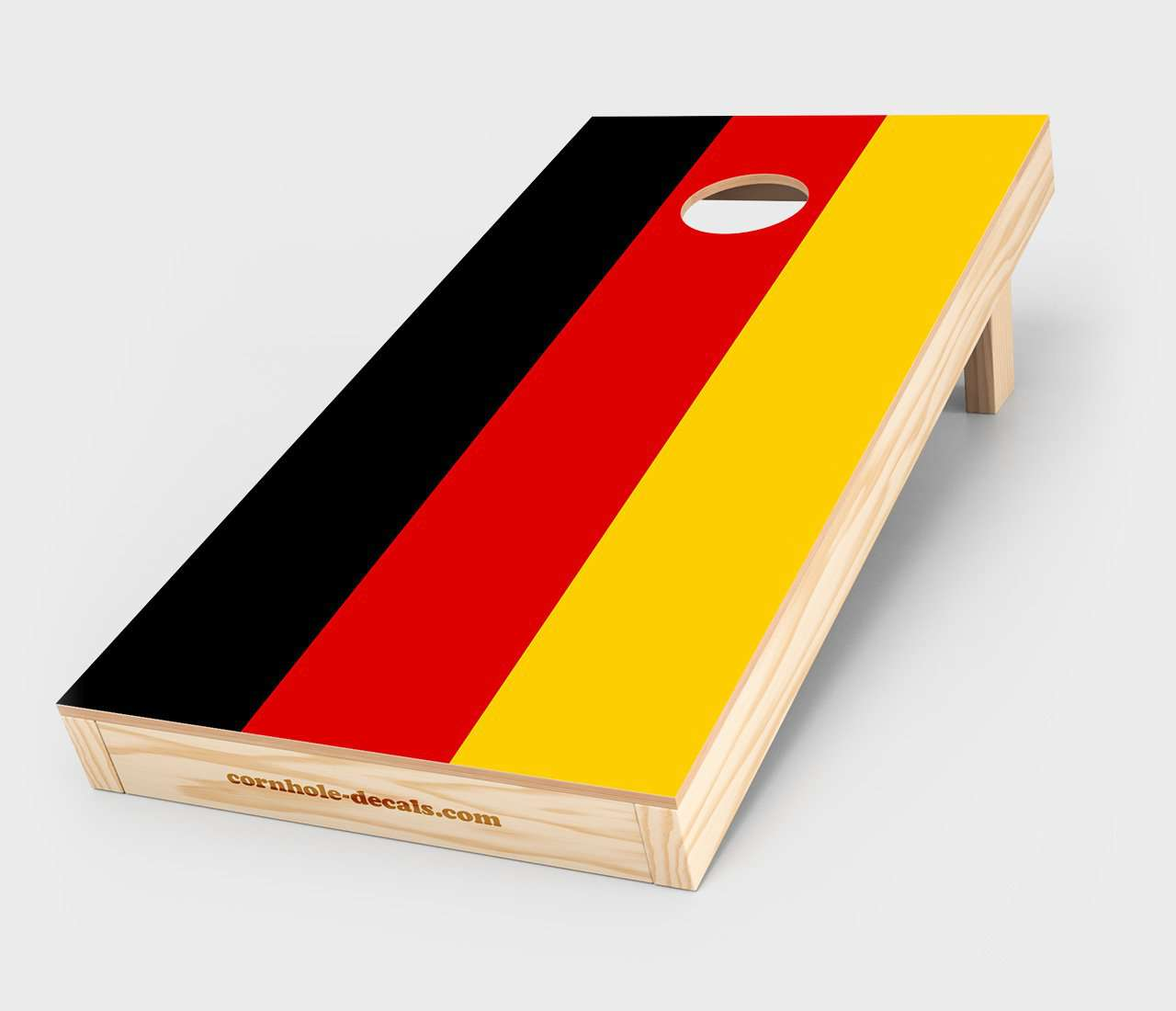 German Flag Cornhole Decal