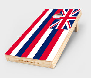 Chuggles Cornhole - Hawaii State Flag Cornhole Decal