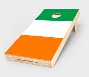 Irish Flag Cornhole Decal