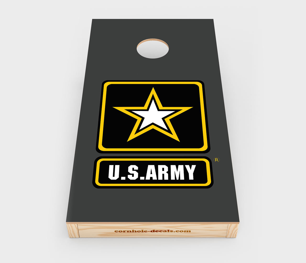 US Army Cornhole Decal