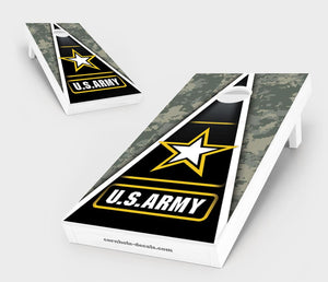 US Army Cornhole Board Set