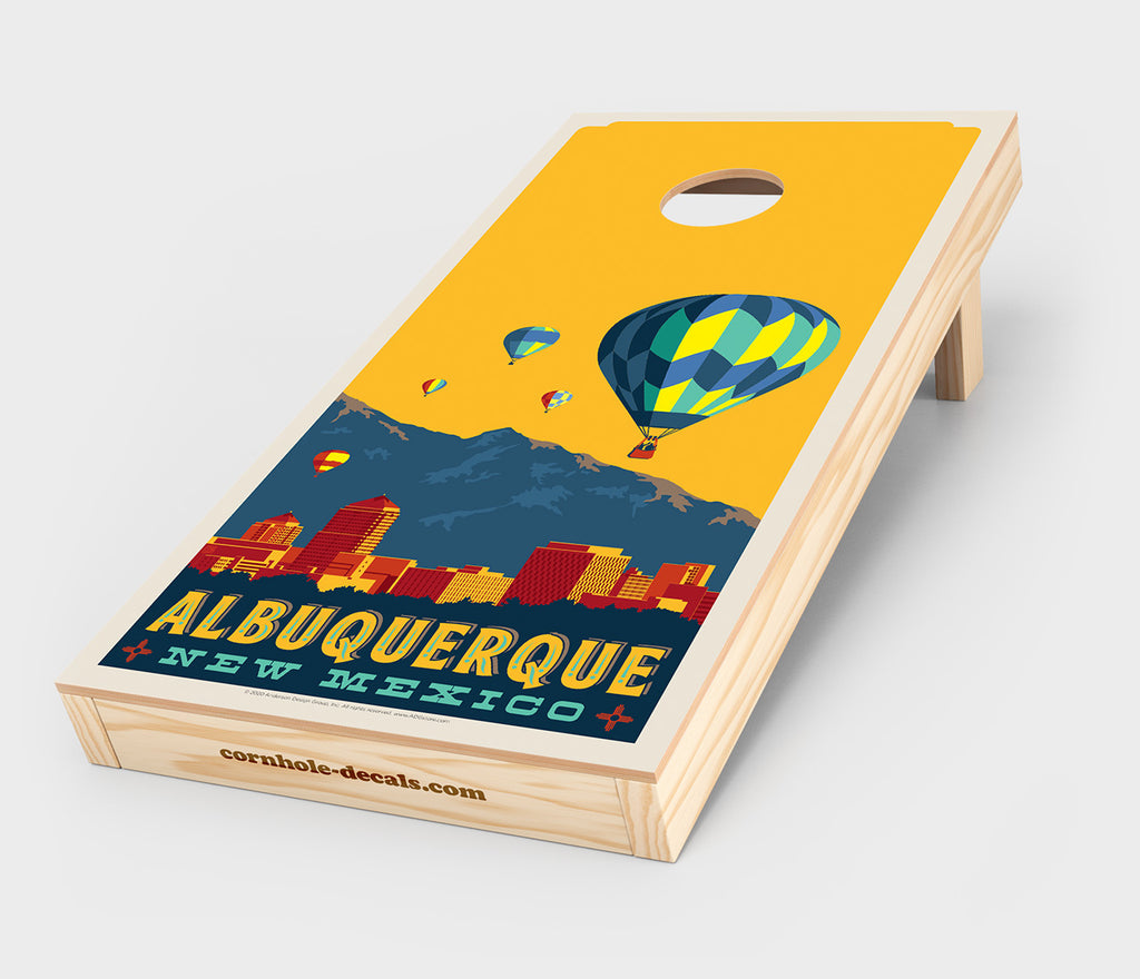 Albuquerque Balloon Festival Cornhole Decal