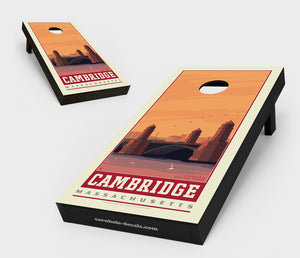 Cambridge, Massachusetts Cornhole Board Set