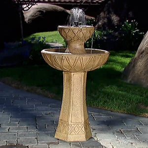 Amore Hybrid Fountain, Bird Feeder & Planter