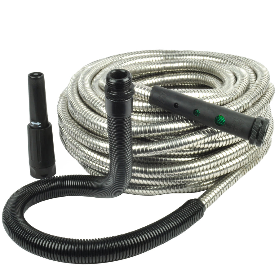 Flex-End Metal Garden Hose