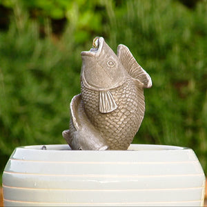 Mini Figure Fountain - Fish