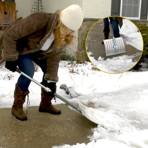 2-in-1 Collapsible Snow Shovel and Ice Chipper