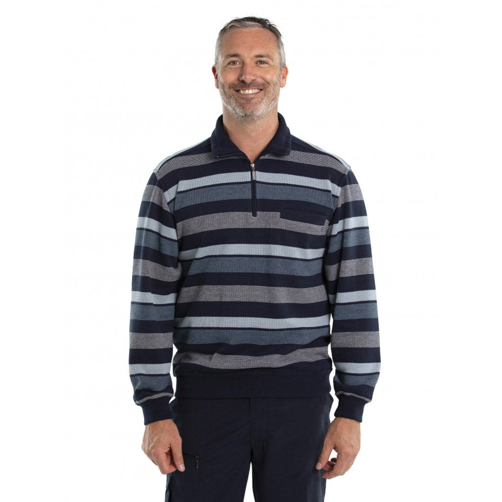Breakaway Donny French Rib Half Zip