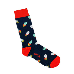 Lafitte Rocket Pattern Socks