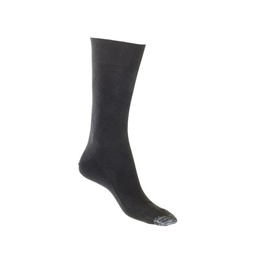 Lafitte Cotton Tough Toe™ Socks - Diamond Pattern
