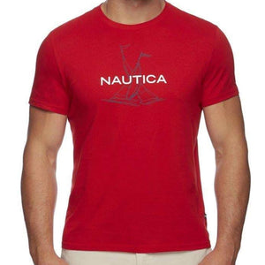 Nautica SS Anchor Flag Graphic T-Shirt