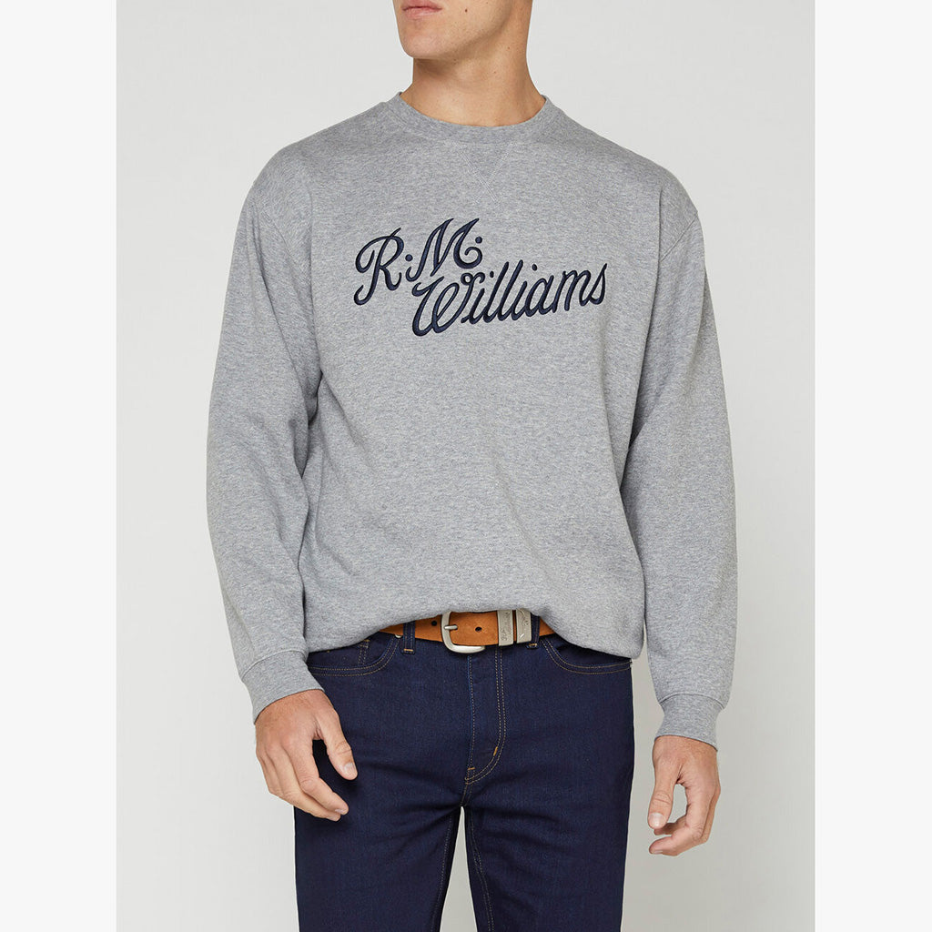 R.M. Williams Script Crew Neck