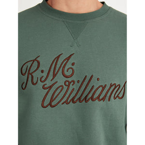 R.M. Williams Script Crew Neck Jumper