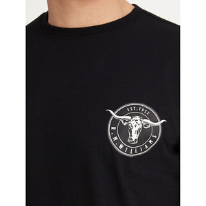 R.M. Williams Longhorn Medallion T-Shirt